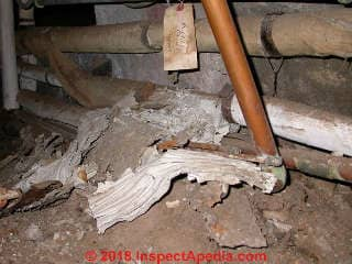 Asbestos Insulation On Pipes Identification Action Guide