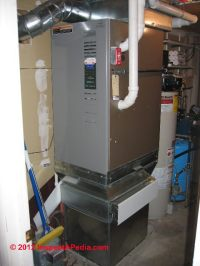 Dianose & repair warm air heating furnaces: how does a ...