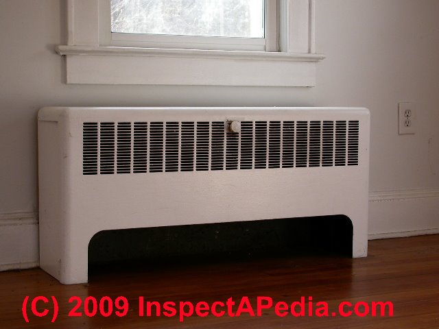 Wall Convectors For Air Conditioning Heating