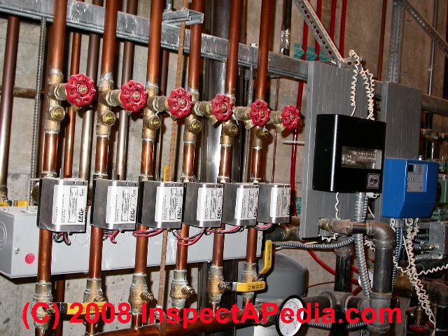 For An Electric Baseboard Heat Thermostat Wiring Diagram Guide To Heating System Zone Valves Zone Valve
