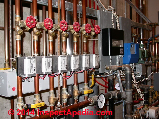 Multiple Heating Zone Control Multiple Circulating Pumps vs