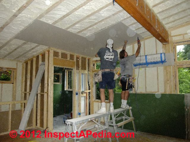How To Install Drywall How To Hang Tape Quotsheetrock