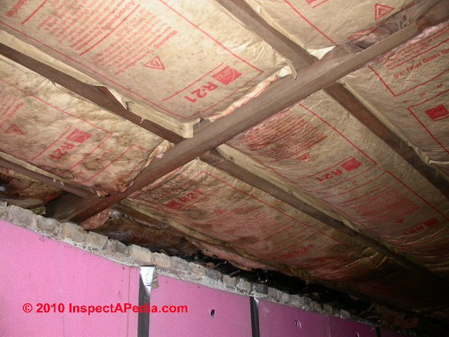 Vapor Barriers Basement Ceiling Wall Moisture Barrier
