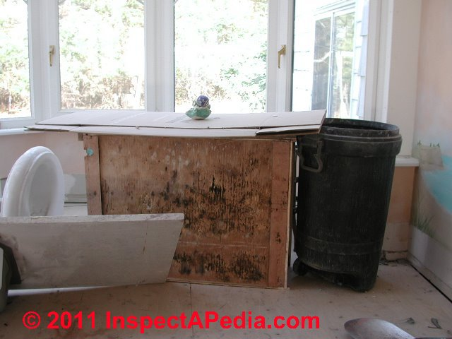 Kitchen Cabinets Water Damaged