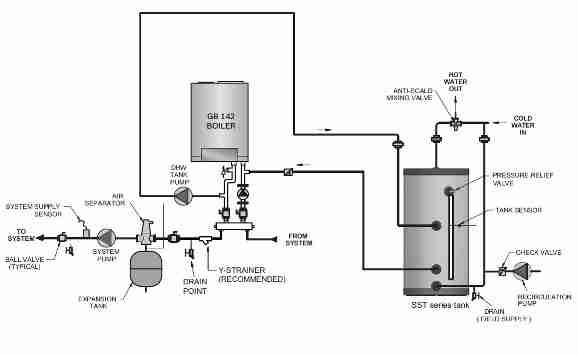 Water Heater Piping Schematic Diagram Online Wiring Diagram