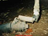 How to avoid freezing drain piping, drains, traps, toilets ...