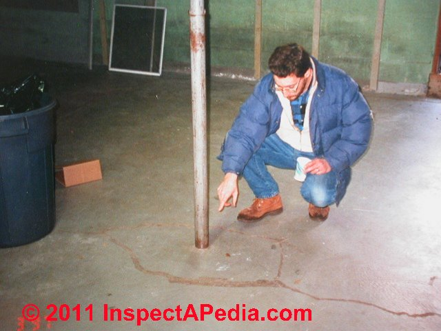 Structural Columns Piers Inspection For Defects