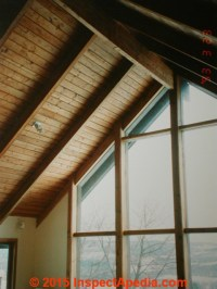 Roof Framing: definition of Collar Ties, Rafter Ties ...