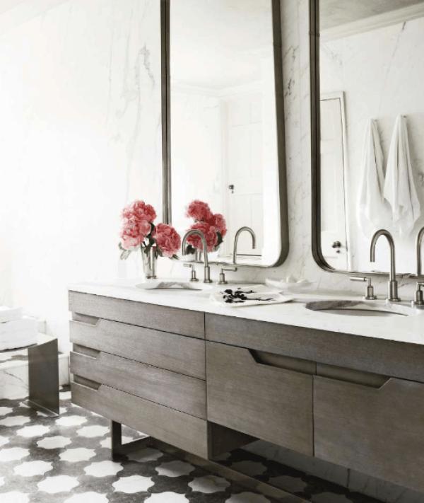 espejos para baños pequeños