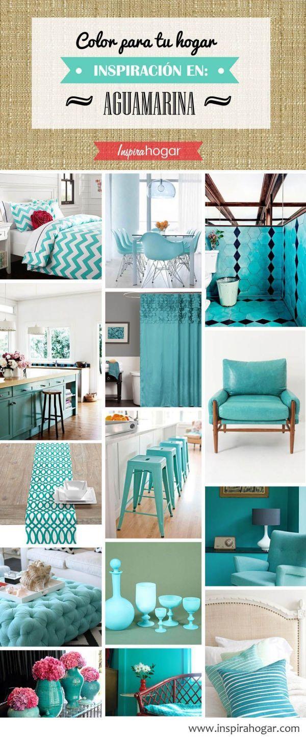 10 colores para casas con estilo 2015 for Pintura azul aguamarina
