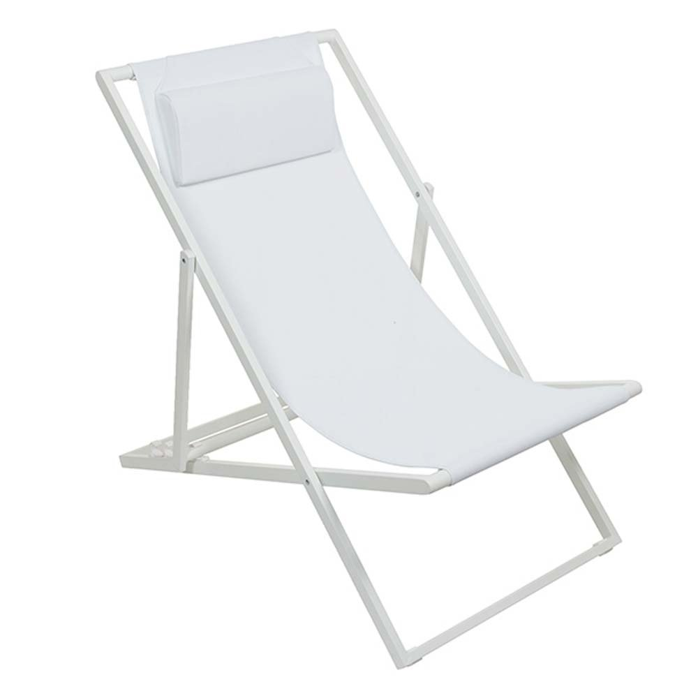 Transat Design Lot De 2 Transat Design Blanc Inspiration Luxe