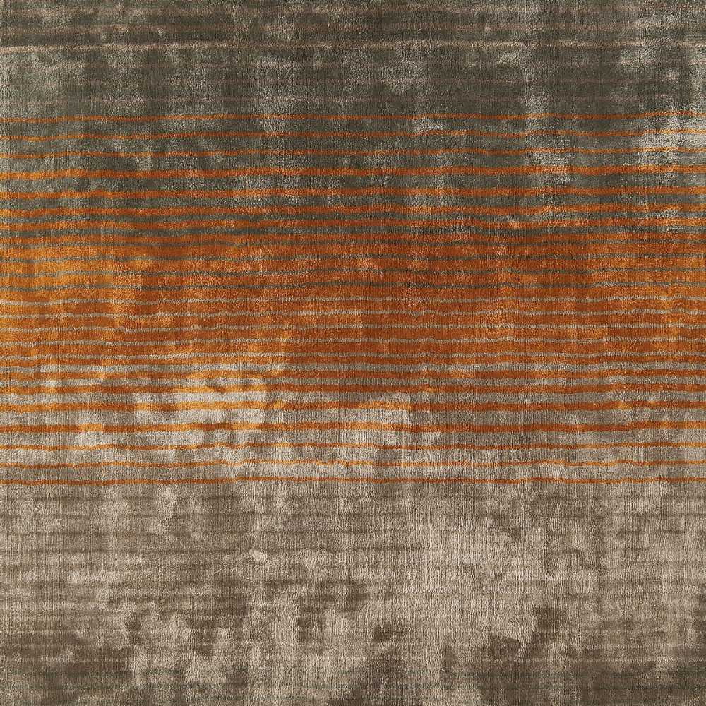 Tapis Orange Et Gris Tapis Design Gris Taupe Et Orange En Viscose Doux