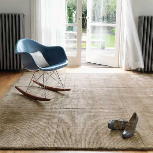 Salon Laine Contemporain Tapis Design De Salon Taupe En Laine Et Viscose