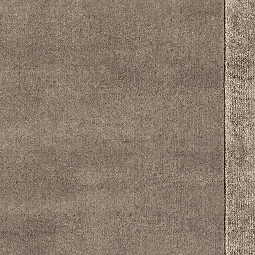 Salon Laine Contemporain Tapis De Salon Design Taupe En Laine Et Viscose