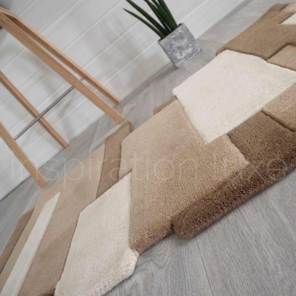 De Couloir Tapis Taupe De Luxe De Couloir Design Pebbles Par Angelo
