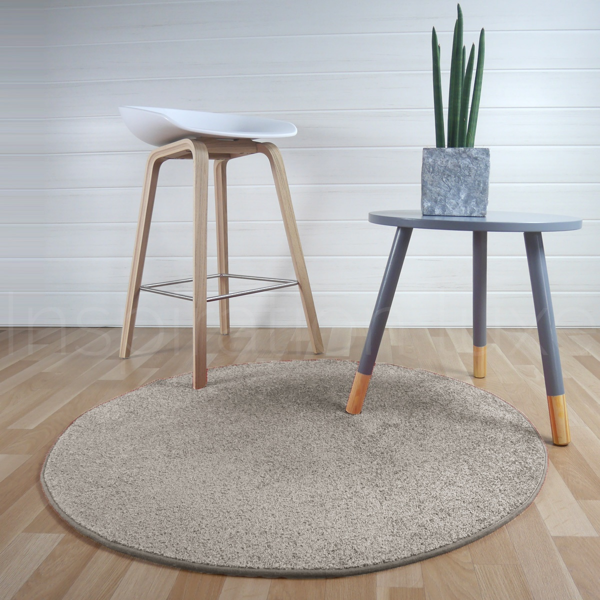 Rond Beige Tapis Rond Beige Amazing Tapis Rond Classique Chic