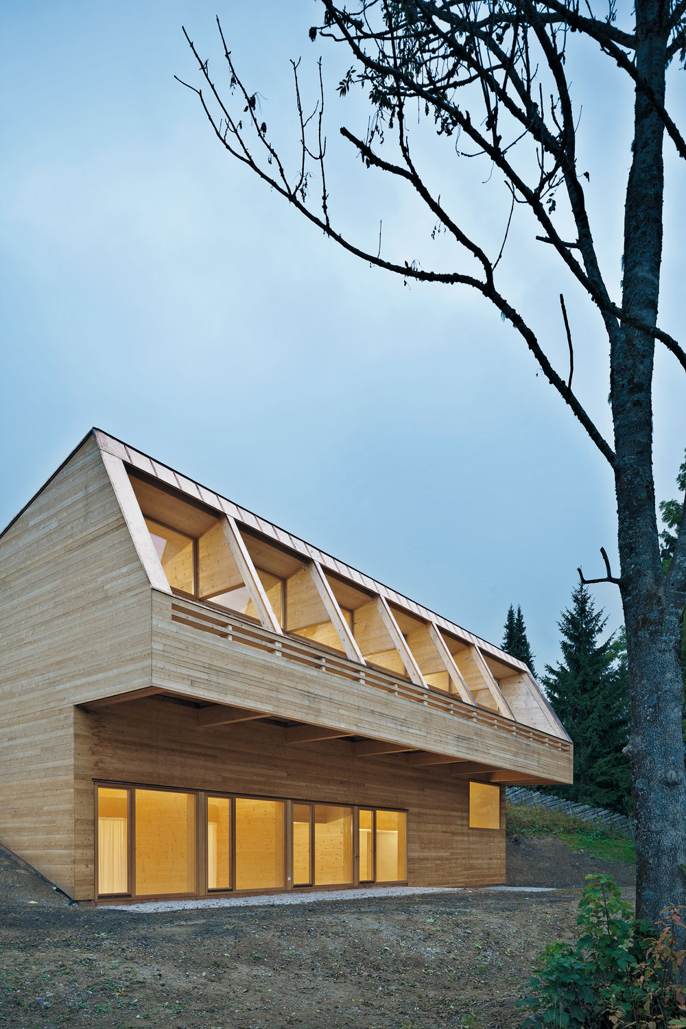 Meck Architekten Ferienhaus In Maria Alm Detail Inspiration