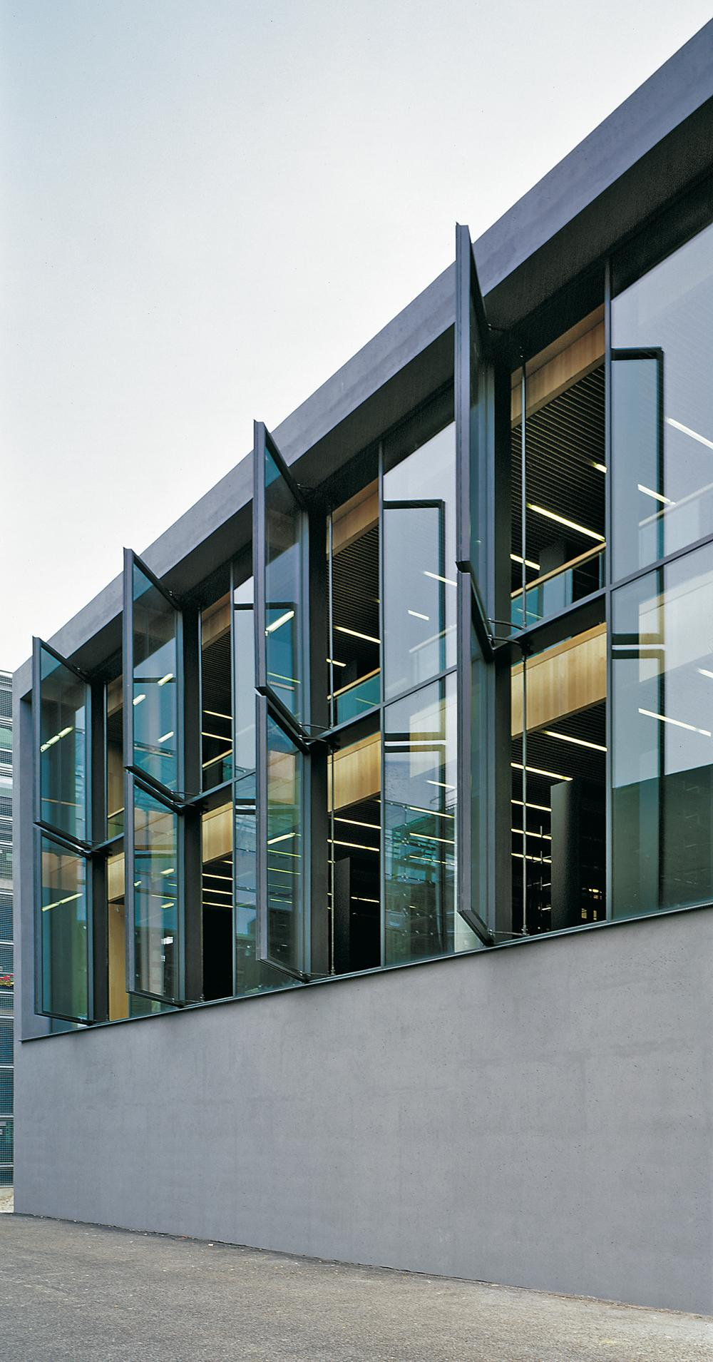 Meck Architekten Library And Lecture Hall In Weimar Detail Inspiration
