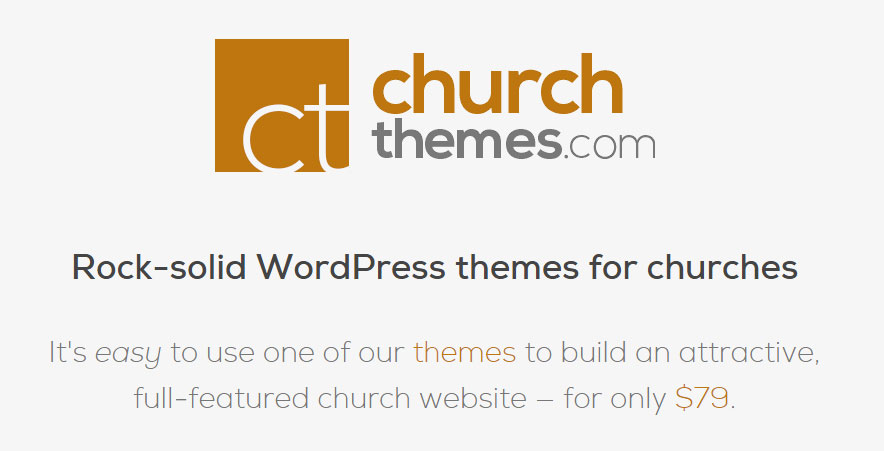 ChurchThemes.com does this very well because they appeal to a very specific section of people. Also, their theme names tie in really well.