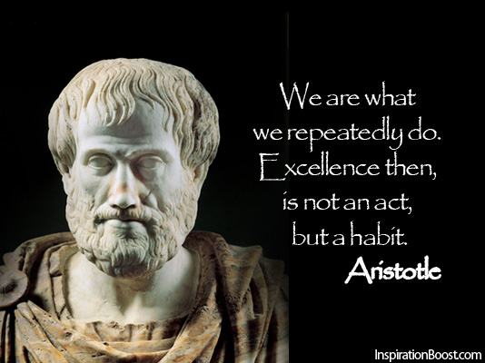 Socrates Wallpaper Quotes Excellence Is A Habit Aristotle Quotes Quotesgram