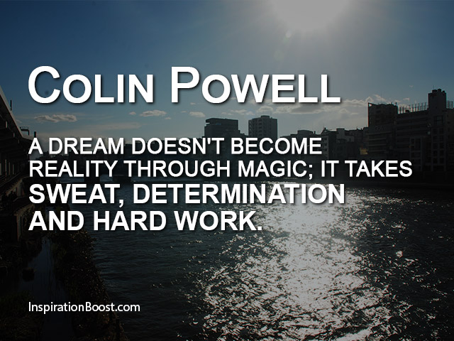 Pursuit Of Happiness Wallpapers With Quotes Colin Powell Dream Quotes Inspiration Boost