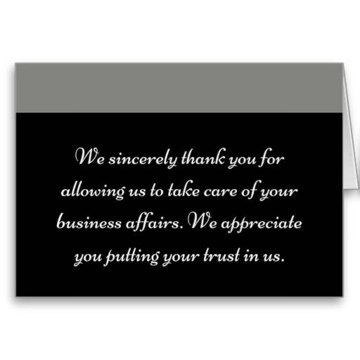 Professional Business Thank You Cards \u2013 TshirtsbyLahart
