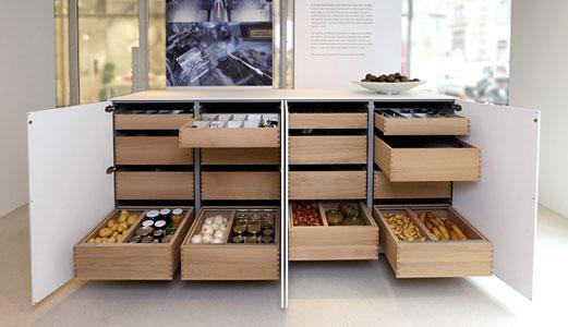 MANHATTAN - Tables console - Tables - Séjours - Meubles FLY - meuble de rangement avec tiroir