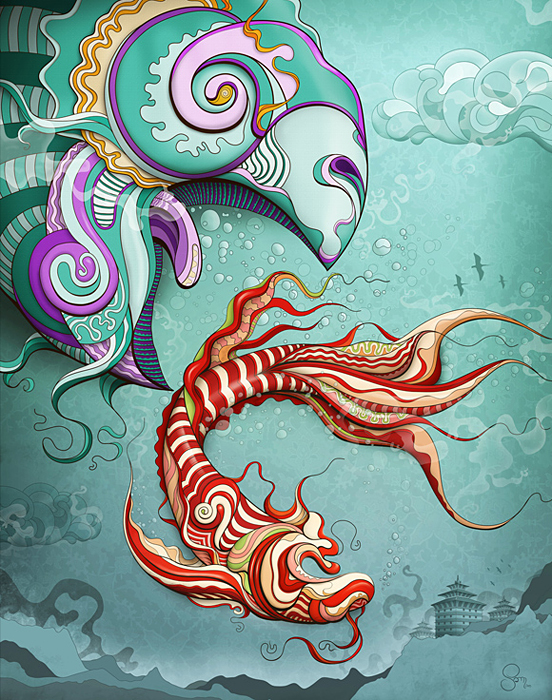 Fish 55 Captivating Examples of Illustration Art