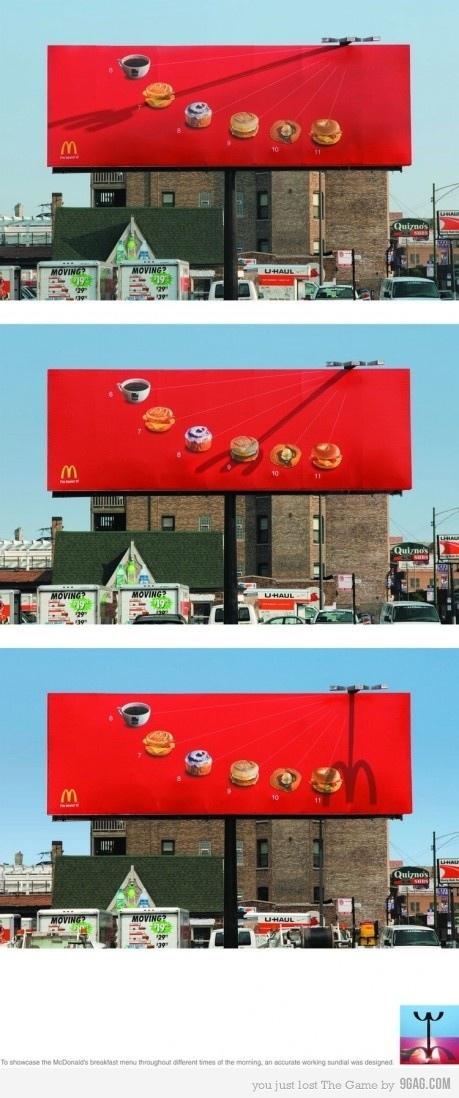 Clever McDonalds Billboard