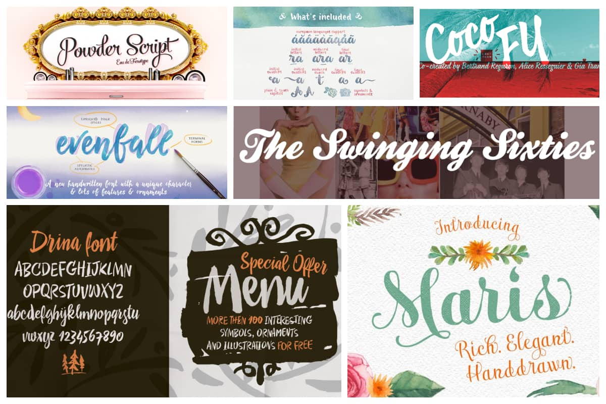 25 Must Have Calligraphy Fonts For Your Designs Inspirationfeed