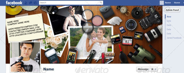 40 Premium Facebook Timeline Cover Photo Templates Inspirationfeed - facebook collage template