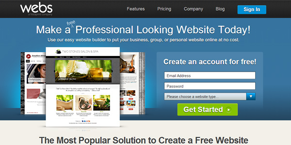 20 Free and Easy Website Building Tools Inspirationfeed