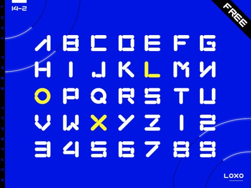 loxo by cj gong 50 Free Fonts Youll be Tempted to Download
