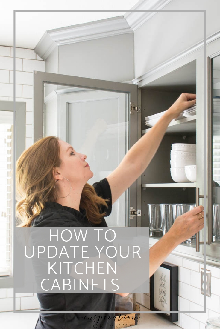 How To Update Kitchen Cabinets Updating Kitchen Cabinet Doors Inspiration For Moms