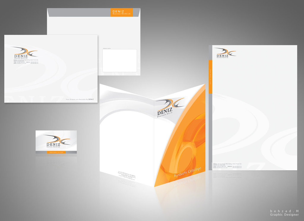 22 Cool Examples of Professional Letterhead Designs - InspirationHive