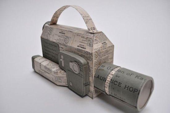paper art models