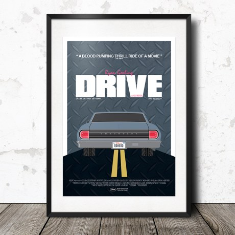 Drive Movie Poster