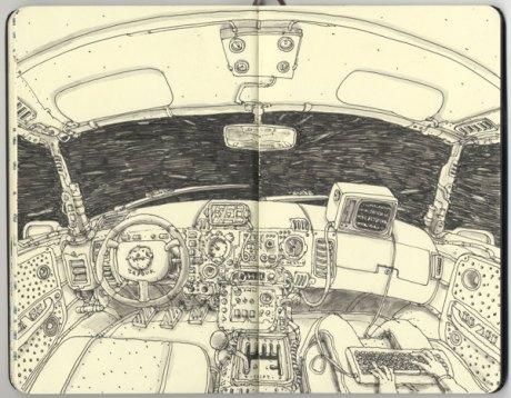 Moleskine Sketch 15
