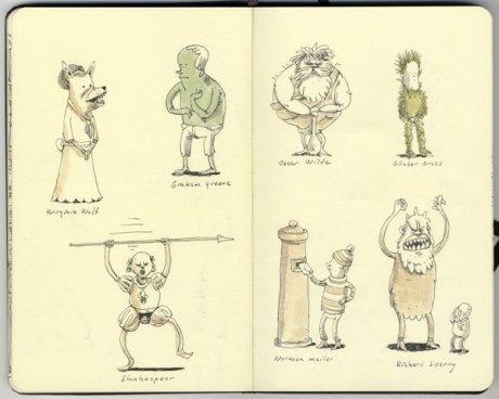 Moleskine Sketch 23