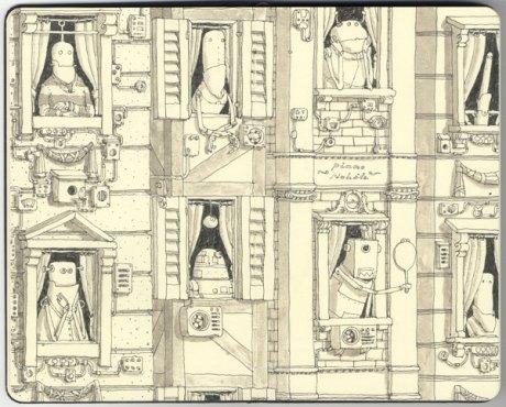 Moleskine Sketch 25