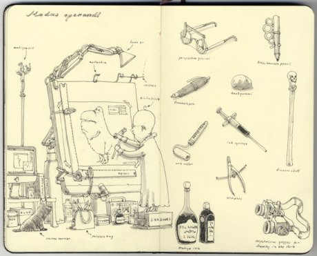 Moleskine Sketch 6