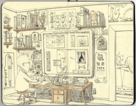Moleskine Sketch 8