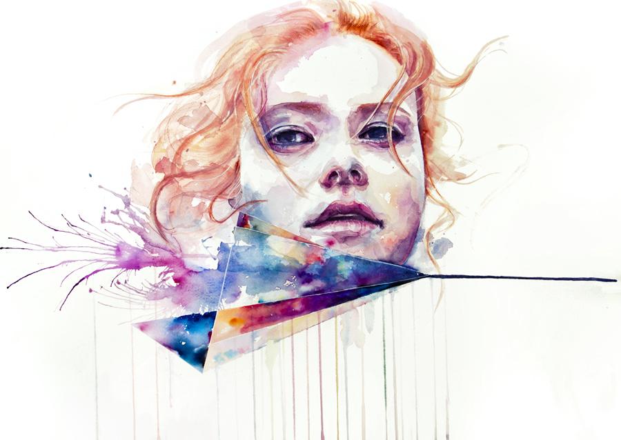 watercolor portrait 4