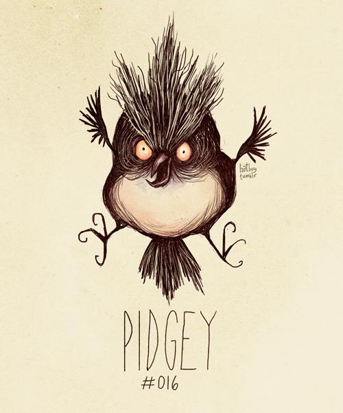 Pidgey - Pokemon Fan Art