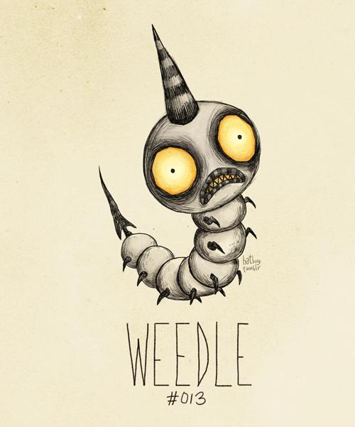 Weedle - Pokemon Fan Art