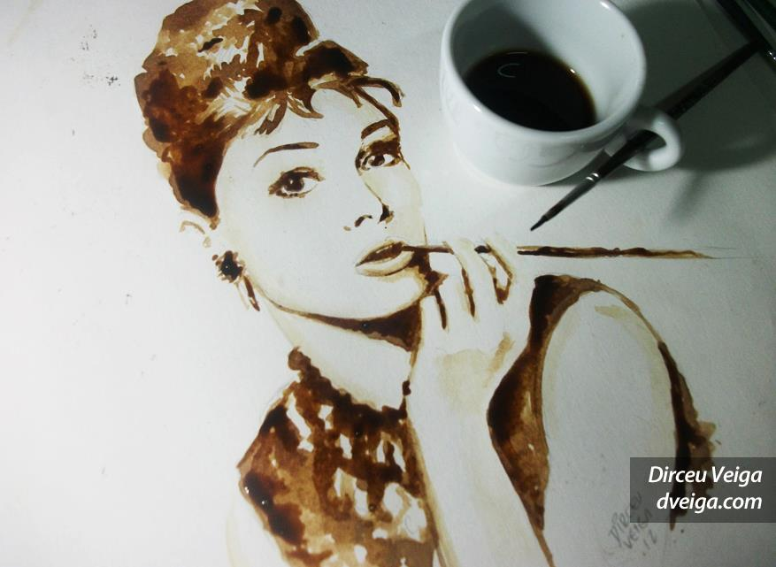 coffee painting inspiration