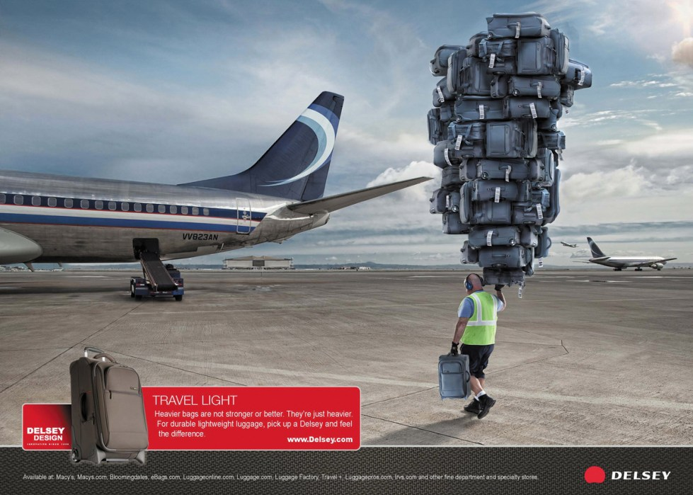 Delsey - Travel Light Advert