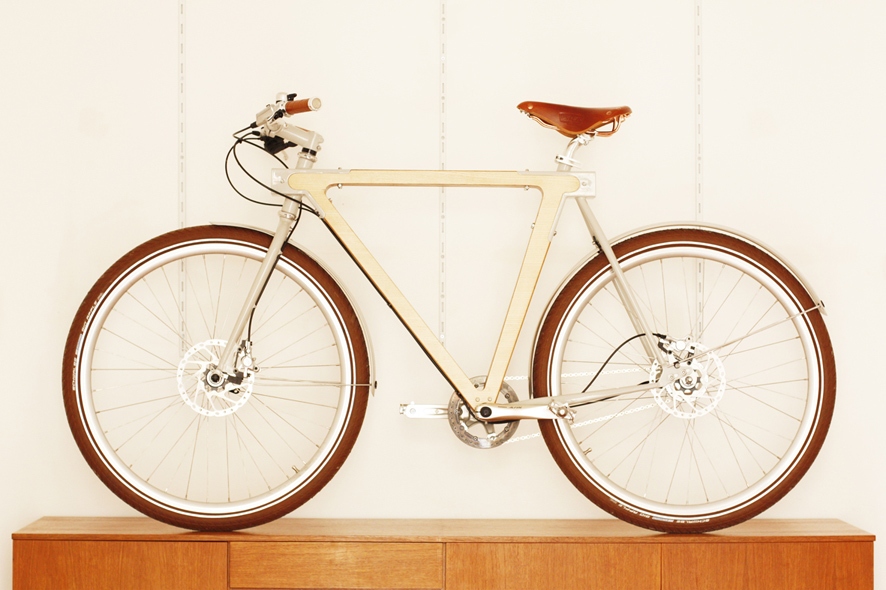 woodwork bicycle
