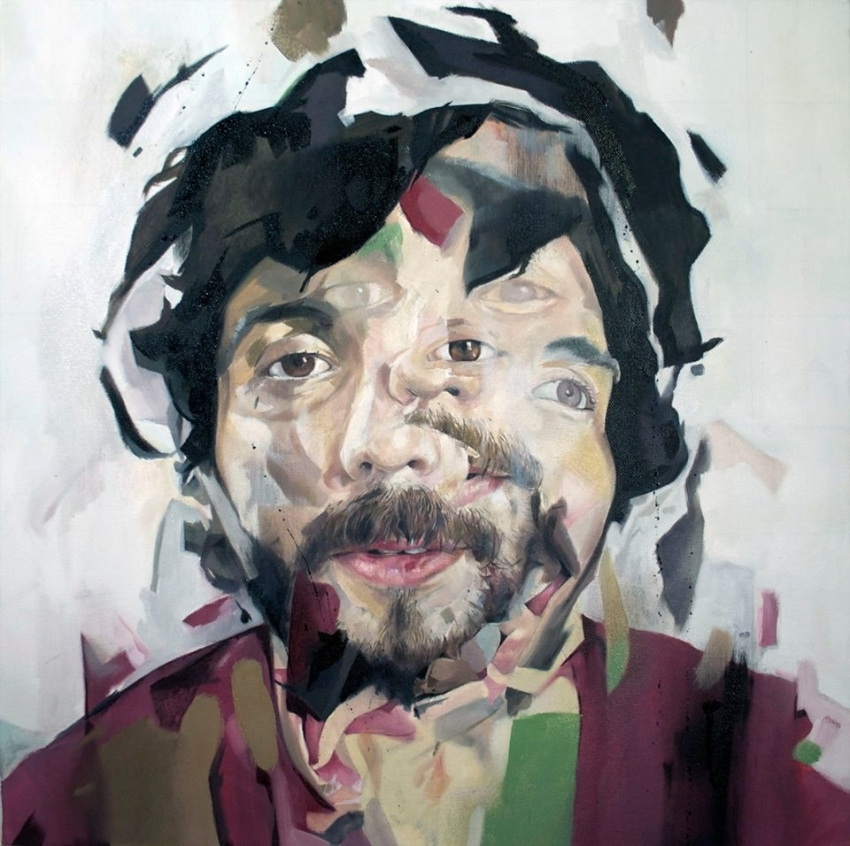Surreal Portrait Paintings