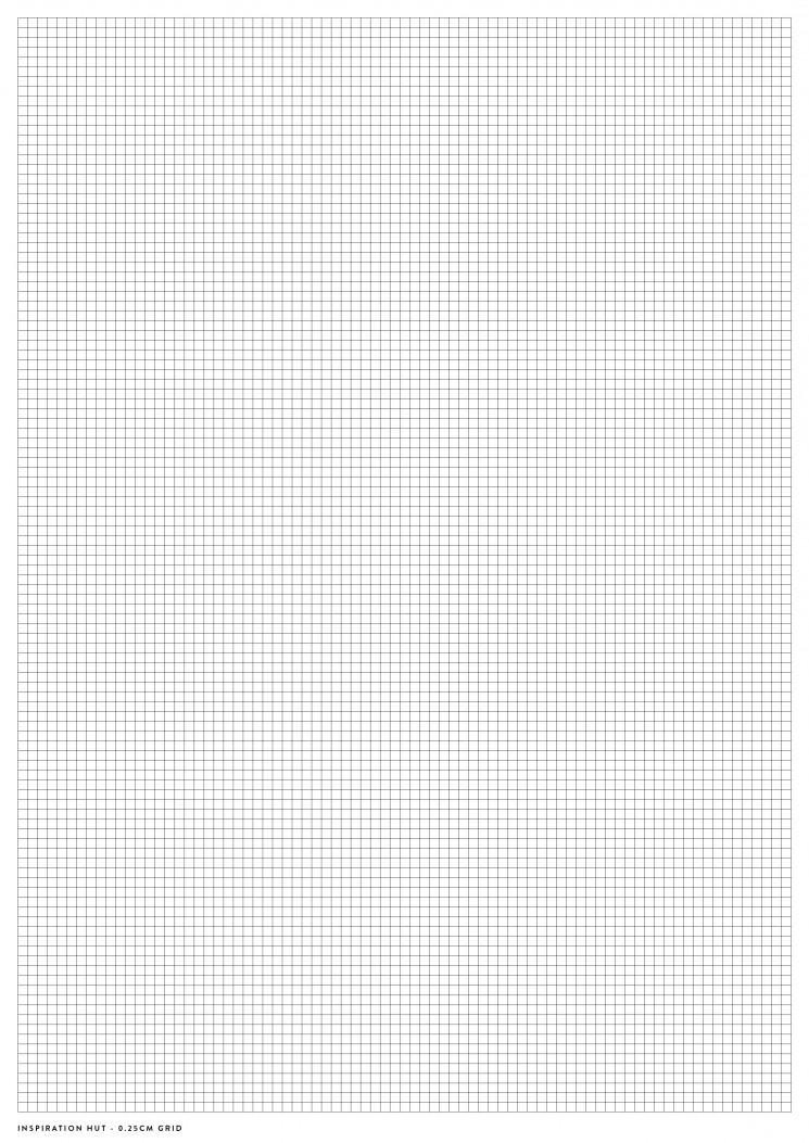 Printable Graph / Grid Paper PDF Templates - Inspiration Hut - graph paper template print